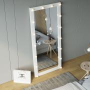 Зеркало с лампочками ростовое рамочное Z-Line