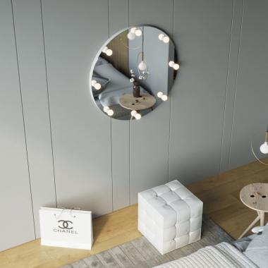 Зеркало настенное безрамочное круглое Z-Line